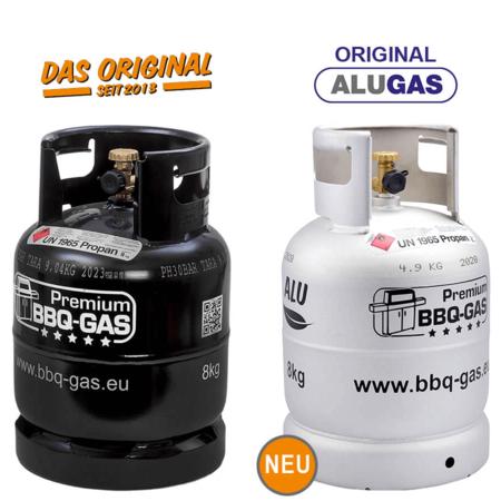 premium bbq gas flasche propangas 5kg 8kg 11kg. Black Bedroom Furniture Sets. Home Design Ideas